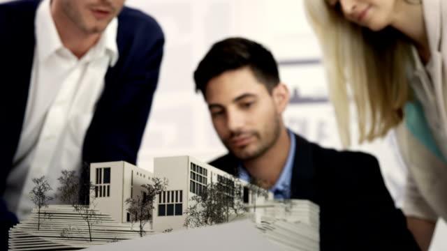 Group examine architecture model