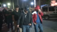 A group of 38 foreign people captured after arriving in Turkey's Seyhan district of Adana to allegedly planning to join Daesh undergo medical...