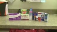 KDAF Group Of Allergy Medication On Table on June 05 2012 in Dallas Texas