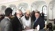 A group of imams visited Poland to learn the history of Jews by meeting Holocaust survivors in a Warsaw synagogue CLEAN Imams visit Poland to learn...