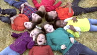Group of multi-ethnic children at