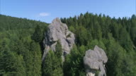 Group of natural big rock