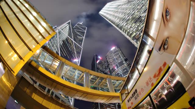 group of office buildings in Hong Kong