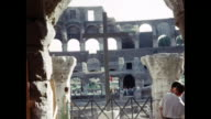 1960 Group of people outside 'The Colosseum' Home Movie