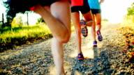 Gruppe der Läufer