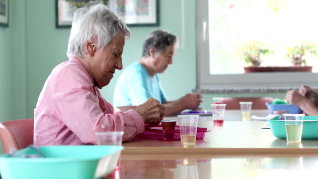 Group of Seniors Socializing and Doing Hobbies