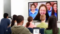 WS DS Group of Students Video Conferencing with School in China / Richmond, Virginia, United States