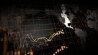 Wachsende finanzielle Diagramm Loop