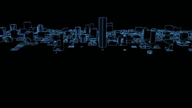 Crescita Neon città