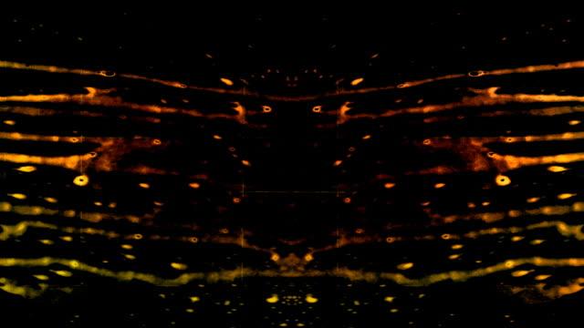 Grunge + Ink Rorschach Abstract