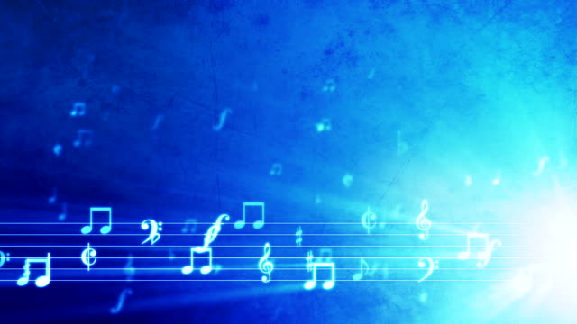 Grunge Music Background Blue Stock Footage Video | Getty Images