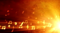 Musica Grunge Sfondo arancione