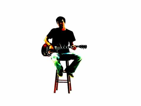 Akustische Musik Gitarre Grunge-Stil