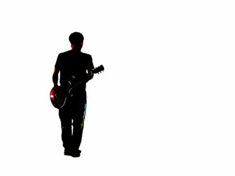 Grunge style lead guitarist