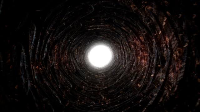Grunge tunnel visione