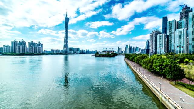 Guangzhou city time lapse