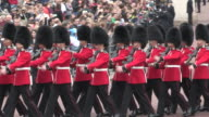 Guards Marching at Buckingham Palace