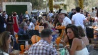 ATMOSPHERE guests at the FifthAnnual Veuve Clicquot Polo Classic Los Angeles at Will Rogers State Historic Park on October 11 2014 in Pacific...