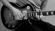 Guitar Solo Black & White