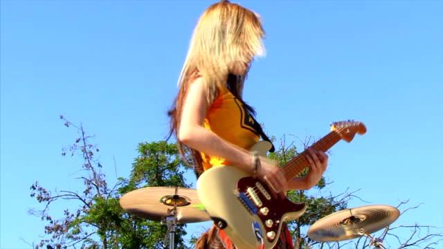 Gitarrist Mädchen
