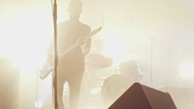 Gitarist spelen gitaar