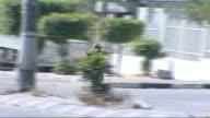 Gun running tunnel network to Egypt FLE / TX EXT Masked Hamas gunmen involved in street gunfight with Fatah militias