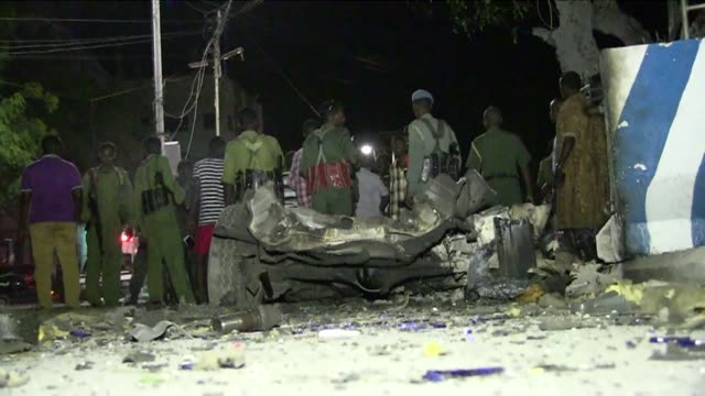Gunmen killed at least three people when they stormed two hotels in Somalia's capital Mogadishu Friday a security official said with three militants...