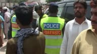 Gunmen on Thursday kidnapped a son of a former Pakistani prime minister on the final day of campaigning for landmark elections which the Taliban have...