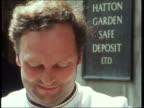Gunmen raid jewellers' safe depository ENGLAND London Hatton Garden Safe Deposit 'At 830 this morning gagged and bound' Corner of building Caretaker...