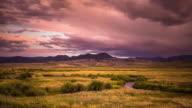Gunnison River Sunset - Time Lapse