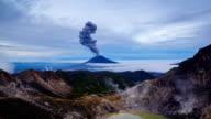 Ausbrüche des Gunung Sinabung