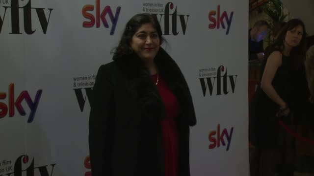 Gurinder Chadha at the Sky Women Awards at London Hilton on December 06 2013 in London England