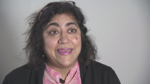 INTERVIEW Gurinder Chadha on how to make a difference for the charity at British Asian Trust Awards ambassador interviews at Claridges Hotel on...