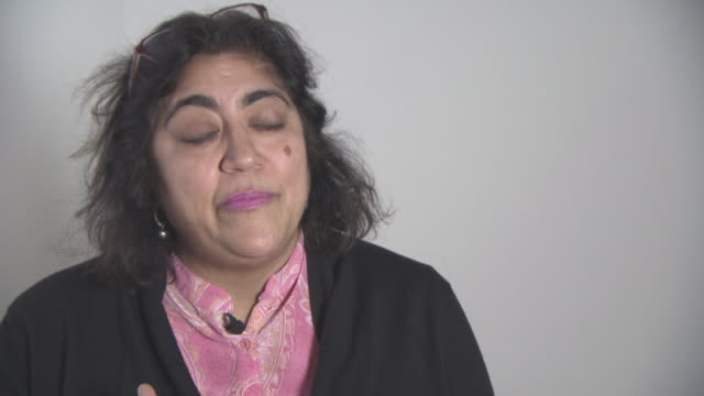 INTERVIEW Gurinder Chadha on the importance of the charity at British Asian Trust Awards ambassador interviews at Claridges Hotel on February 1 2016...