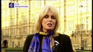 Gurkha veterans win battle to live in UK ENGLAND London GIR INT Joanna Lumley LIVE 2WAY interview from Westminster SOT Came as immense shock to...
