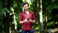 Guy standing in park
