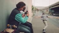 Guy taking photo