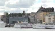Gvs from Stockholm the host city for the 2017 UEFA Europa League final Gvs of the city the trophy and merchandise