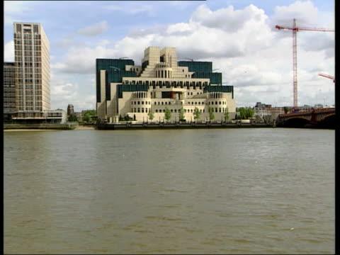 GVs MI6 Headquarters building