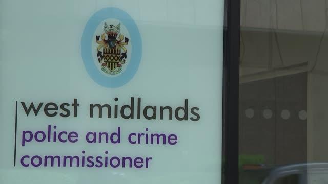 GVs of West Midlands Police Headquarters building ENGLAND West Midlands Birmingham EXT General views of West Midlands Police Headquarters building...