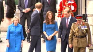 GVs Poppy installation / Duke and Duchess of Cambridge and Prince Harry open Tower of London installation Prince William Duke of Cambridge and...