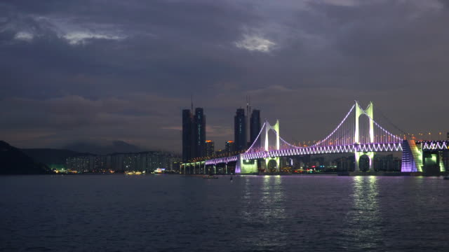 Gwangan Bridge with Busan City