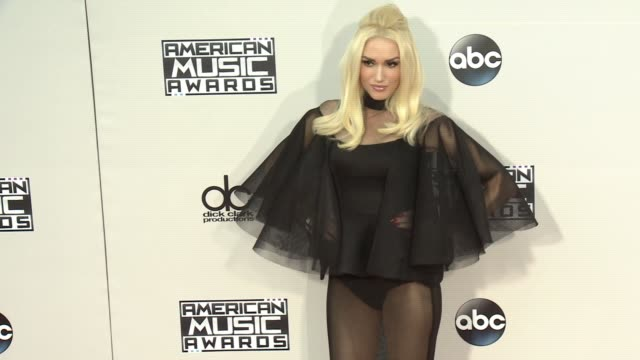 Gwen Stefani at 2015 American Music Awards Arrivals in Los Angeles CA