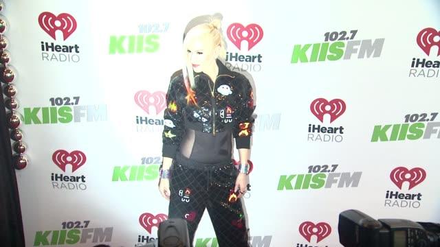 Gwen Stefani at KIIS FM's Jingle Ball 2014 at Staples Center on December 05 2014 in Los Angeles California