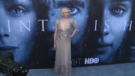 Gwendoline Christie at 'Game of Thrones' Season 7 Premiere at Walt Disney Concert Hall on July 12 2017 in Los Angeles California