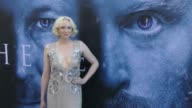Gwendoline Christie at the 'Game of Thrones' Season 7 Premiere at Walt Disney Concert Hall on July 12 2017 in Los Angeles California