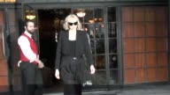 Gwendoline Christie gets mobbed by paparazzi at Celebrity Sightings in New York on September 09 2017 in New York City