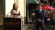 Gwyneth Paltrow and Rob Lowe at Rob Lowe Honored With Star On The Hollywood Walk Of Fame at Hollywood Walk Of Fame on December 08 2015 in Hollywood...