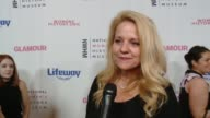 INTERVIEW Gwynne Shotwell at Women Making History Awards Honoring Kerry Washington Instagram COO Marne Levine SpaceX President COO Gwynne Shotwell at...