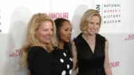 Gwynne Shotwell Kerry Washington and Marne Levine at Women Making History Awards Honoring Kerry Washington Instagram COO Marne Levine SpaceX...